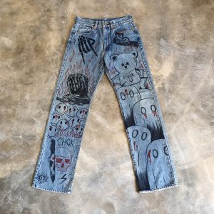 ABCDEFGHOST DENIM (30×32)
