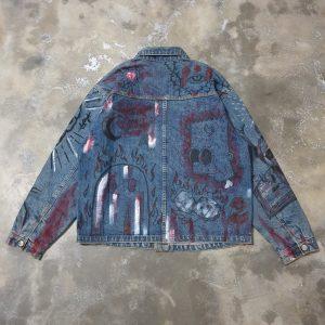 Protectyourpeace Denim Jacket (L)